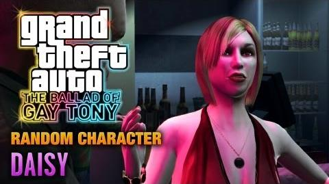 GTA The Ballad of Gay Tony - Random Character 3 - Daisy (1080p)