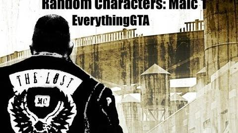 GTA The Lost and Damned Random Characters- Malc 1