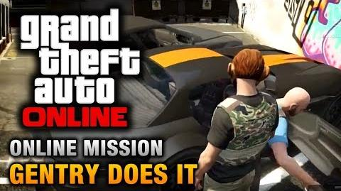 GTA Online - Mission - Gentry Does It Hard Difficulty