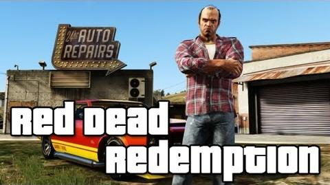 Grand Theft Auto V Red Dead Redemption Easter Egg
