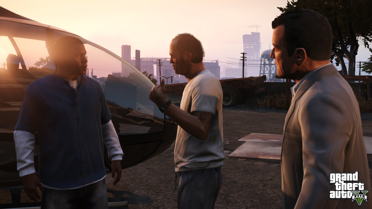 controlling multiple characters in GTAV
