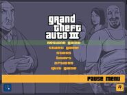 Pause Menu of GTA 3