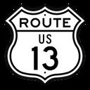 US Route 13 Shield