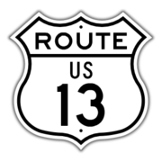 US Route 13 Shield