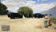 Offroad Race Great Chaparral GTAV Start Point