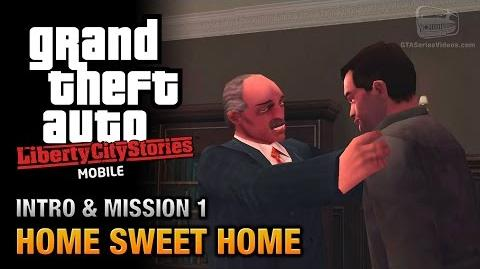 GTA Liberty City Stories Mobile - Intro & Mission 1 - Home Sweet Home