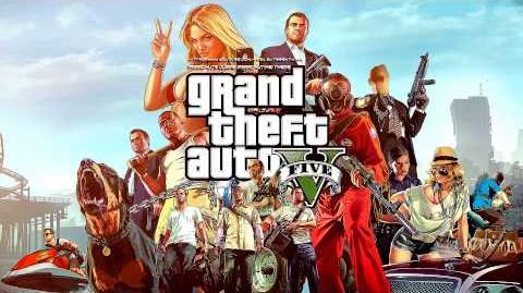 Grand Theft Auto GTA V - Parachute Jumps (Parachuting) Music Theme