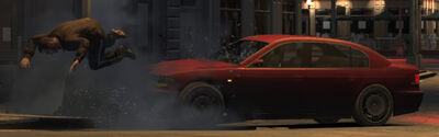 Involuntary ejection (GTA4) (car)