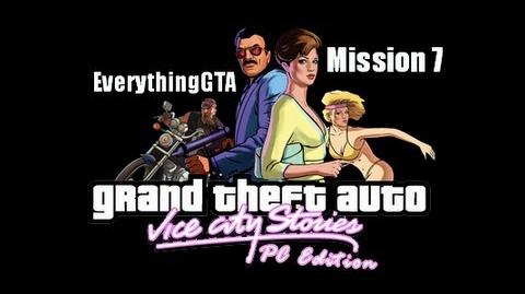GTA Vice City Stories PC Edition Mission 7- Shakedown (Beta3)