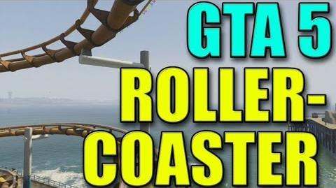 GTA V Roller Coaster Gameplay (HD) (No spoilers)