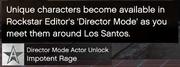 Director Mode GTAVpc Actor Unlocks