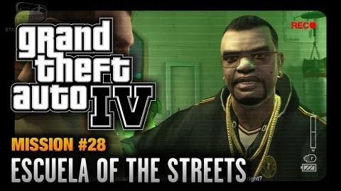 GTA 4 - Mission 28 - Escuela of the Streets (1080p)