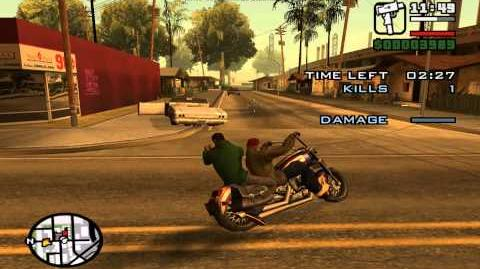 GTA San Andreas. Beta missions 1 - Awol Angel.