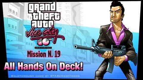 GTA Vice City - iPad Walkthrough - Mission 19 - All Hands On Deck!