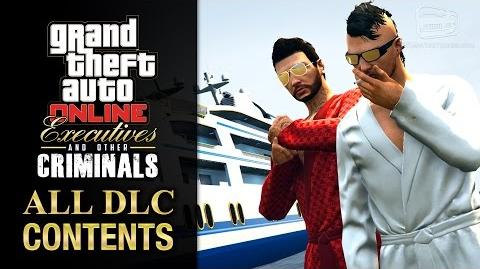 GTA Online Executives and Other Criminals Update All DLC Contents