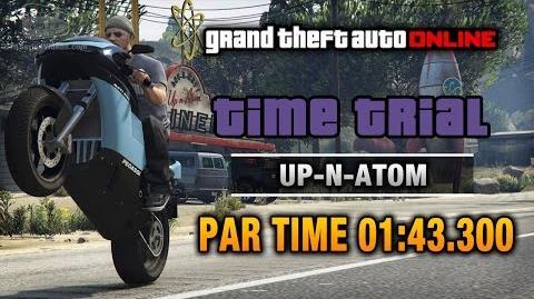GTA Online - Time Trial 11 - Up-n-Atom (Under Par Time)