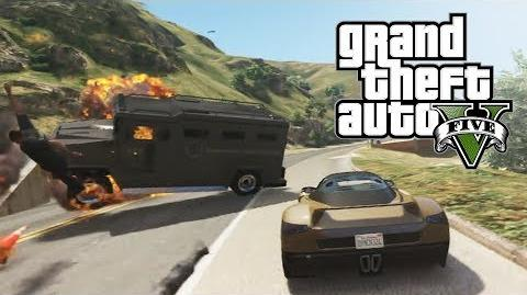 GTA V - Content Creator (Police Chase)