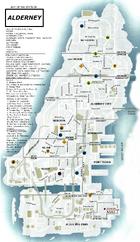 Alderney Map