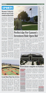 Daily Globe Newspaper Sports pageGTAV