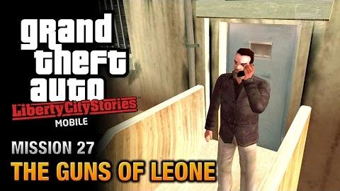 GTA Liberty City Stories Mobile - Mission 27 - The Guns of Leone