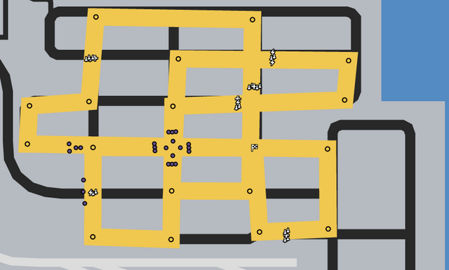 File:Criss Cross Dock Race GTAO Verified Map.png