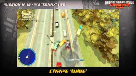 GTA Chinatown Wars - Walkthrough - Mission 18 - Carpe 'Dime'