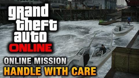 GTA Online - Mission - Handle with Care Hard Difficulty