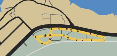 Against The Grain GTAO Race Map
