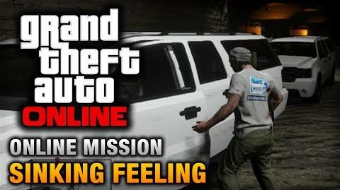 GTA Online - Mission - Sinking Feeling Hard Difficulty