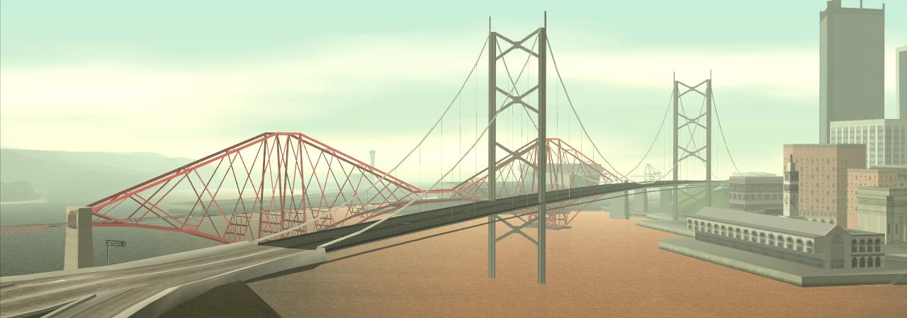 Garver Bridge Gta Wiki Fandom Powered By Wikia