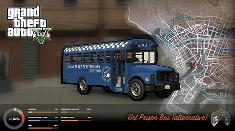 GTA V - How to get the Prison Bus