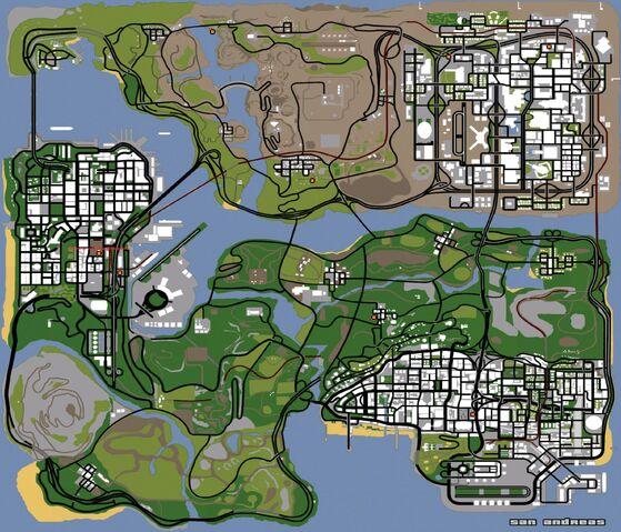 File:PumpActionShotgun-LocationsMap-GTASA.jpg