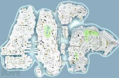 Liberty City Road Map 12