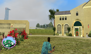GTAVC HiddenPack 55 front dooor of 2nd house from Starfish Island NE end