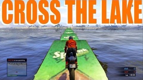 GTA Online - JUMP THE LAKE (ORIGINAL Created Mission!)