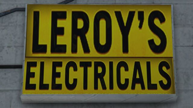 File:Leroys Electricals GTAVe Sign.jpg