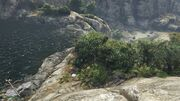 Spaceship Parts GTAVe 11 Cassidy Creek Waterfall