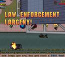 Law Enforcement Larceny!