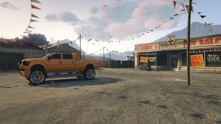 Los Santos Customs GTAOe Pre-Modified sellable SandkingXL