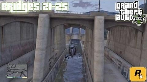 GTA5 Under The Bridges 21-25 (Aerial Challenges) Tutorial Grand Theft Auto V PS3 Xbox 360 ᴴᴰ