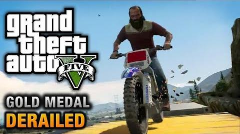 GTA 5 - Mission 53 - Derailed 100% Gold Medal Walkthrough