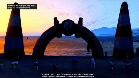 Grand Theft Auto GTA - Triathlon Marathon Exercising Demons Music Theme