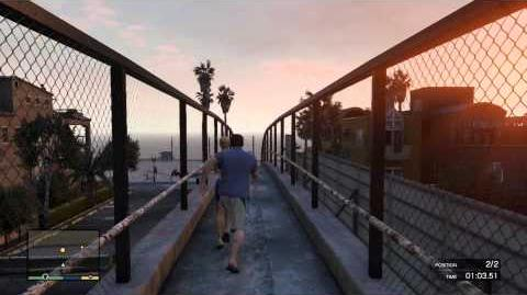 Grand Theft Auto 5 GTA5 Exercising Demons-Michael Strangers and Freaks Gold Achievement