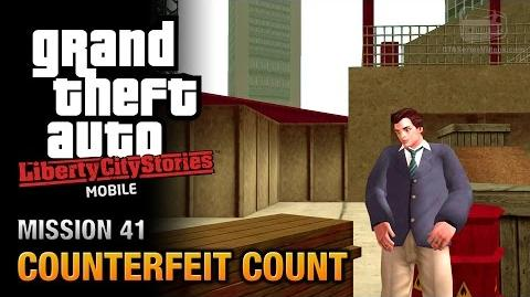 GTA Liberty City Stories Mobile - Mission 41 - Counterfeit Count