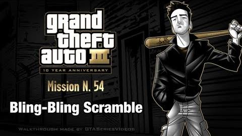 GTA 3 - iPad Walkthrough - Mission 54 - Bling-Bling Scramble