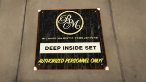 Deep Inside (Film) GTAV Set Signage