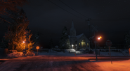 Ludendorff Church Night GTAV