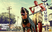 Franklin and Chop-GTAV