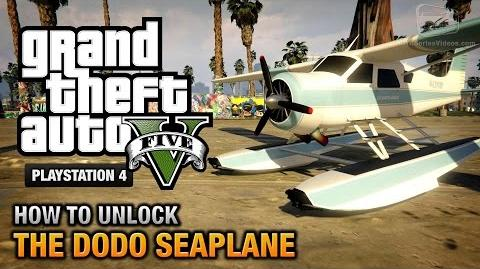 GTA 5 - How to unlock the Dodo Seaplane -PS4 & Xbox One-
