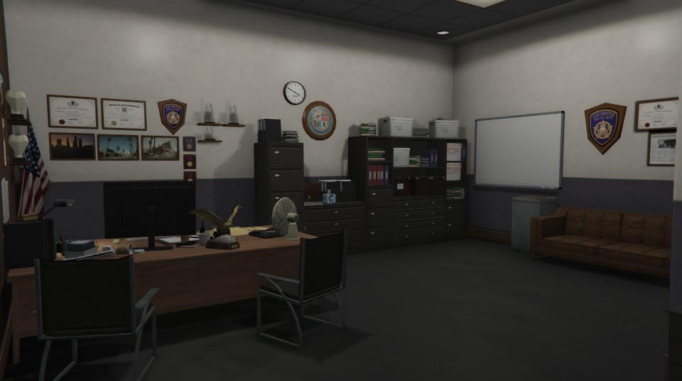 Image - Mission Row Police Station-Cheif's Office Interior
